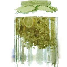 Az eredeti bodzaszörp Elderflower, Guacamole, Glass Vase, Food And Drink, Canning, Decor, Apple Pie, Smoothie, Drinks