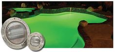 Intellibrite Color Changing LED In Ground Pool Light
