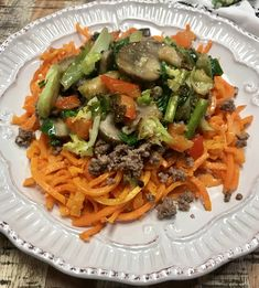 Carrot and Beef Spaghetti | Steve's PaleoNotes