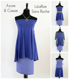 Try the Azure skirt with the Cassie skirt and visa versa for some really cute looks! Join my facebook group to shop: https://facebook.com/groups/lularoesararoche