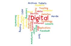 Wordle about Learning Digitally.