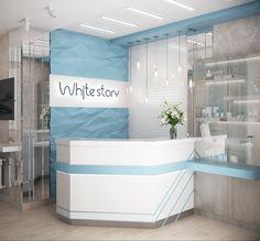 Medical Clinic Interior Dental 63 Ideas For 2019 Dental Office Decor, Medical Office Design, Clinic Interior Design, Clinic Design, Dental Design, Dentist Clinic, Decoration, Dental Studio, Info Desk