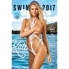 Trends International Sports Illustrated Swimsuit Kate Upton Cover #3 2017 Wall Poster 22.375 inch x 34 inch, Multicolor