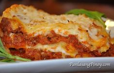 Experience the rich taste and flavor of this Easy Lasagna Recipe with Bechamel Sauce. Learn to cook through our cooking video.