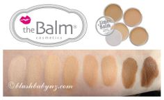 theBalm TimeBalm Foundation. Medium to Full Coverage Foundation http://www.blushbabynz.com/shop/face/thebalm/timebalm-foundation