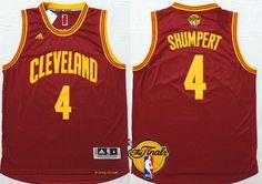 Cleveland Cavaliers #4 Iman Shumpert 2016 The NBA Finals Patch Red Jersey