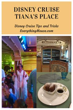 Disney Cruise Hacks. What is so special about Disney Wonder Tiana's Place. Discover now with the menus, photos and video of this very special Disney Wonder Cruise Restaurant. Disney Cruise Alaska, Disney Wonder Cruise, Disney Cruise Tips, Disneyland Tips, Disney Vacations, Disney Secrets In Movies, Disney World Secrets, Disney World Tips And Tricks, Cruise Mexico