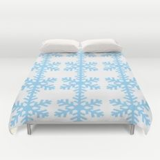 SnowflakesForPunkie Duvet Cover by Inspired Arts www.society6.com/inspired arts