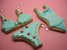 Chic Lingerie cookies by Osedo L Cakes, via Flickr