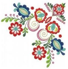 Hand Painted Furniture, Flower Designs, Lana, Stitch, Sewing, Tableware, Artwork, Flowers, Pattern