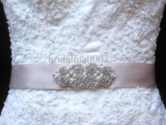 Wholesale Special Fashion Sash on Waist for Wedding Dresses Beaded Pearls Sashes Satin Bridal Dress Wedding Accessories MM029, Free shipping, $29.12-35.84/Piece | DHgate any color ribbon
