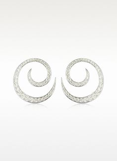 Colucci Diamonds 5.12 ctw White Gold Diamond Orion Earrings