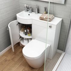 Beautiful bathroom storage ideas and furniture design Bathroom Vanity Units, Small Bathroom Storage, Tiny House Bathroom, Bathroom Layout, Bathroom Vanities, Modern Bathroom, Compact Bathroom, Dyi Bathroom, Downstairs Bathroom