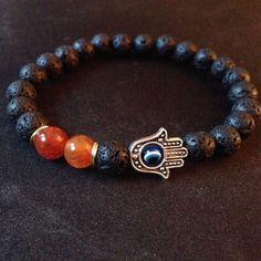 Hamsa Hand Bracelet on Etsy, $30.00