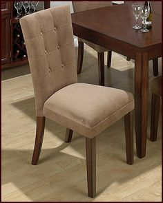 6 Button Parson Dining Chair JO-888-830KD (Set of2) by Jofran. $252.00