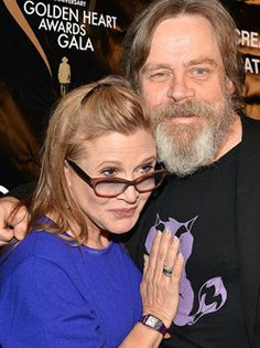 Carrie Fisher and Mark Hamill : Our leading lady, Carrie Fisher Carrie Fisher will return as Princess Leia in Star Wars VII, but she's always been our heroine for rebelling against the stigma of bipolar