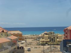 New town area of Santa Maria, Sal, Cape Verde