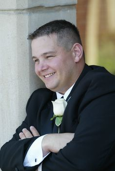 Chad, on the day he married my niece, Ginny.