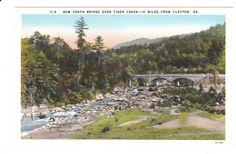 Clayton Georgia Vintage Postcard unused by PicturesFromThePast