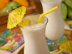 Bananas and Cream Daiquiri - Take a tropical vacation with these smooth 'n' creamy treats!