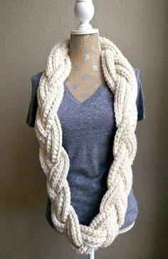 Braided Infinity Scarf | The Snugglery | A Place for Yarn Lovers