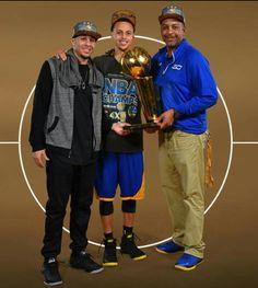 Seth, Steph & Wardell Curry