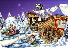 arctic-pirates / Praatplaat piraten