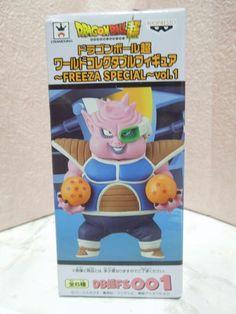 NEW Dragon Ball Super WFC World Collectable Figure Vol.1 001 Dodoria Special