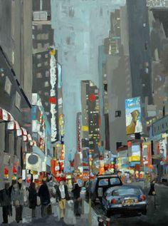 "Leslie Graff ~ ""NYC Corner"""