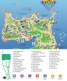 Detailed information about the cruise port including island maps for Royal Caribbean Cruise Lines passengers visiting the cruise port of CocoCay, Bahamas and Carnival Cruise Lines passengers visiting Little Stirrup Cay, Bahamas. Caribbean Cruise Line, Caribbean Honeymoon, Royal Caribbean Ships, Honeymoon Cruise, Bahamas Vacation, Bahamas Cruise, Cruise Port, Cruise Travel, Cruise Vacation