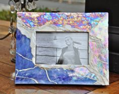 mosaic picture frame The Summit от Ernyme на Etsy