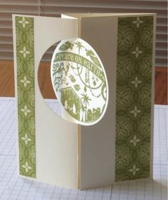 Stampin' Ups! New Thinlit Card Dies - Wonderful Blessing 2013 single stamp from Stampin' Up.