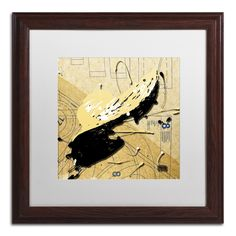 Beige Floppy by Roderick Stevens Matted Framed Painting Print