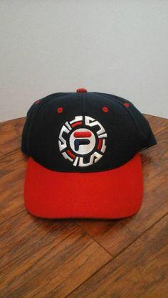 e314e8c372c Vintage 90 s Fila Snapback Hat. Hip Hop ...