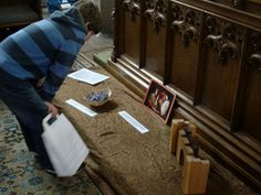 Good Friday Prayer Stations with collectibles