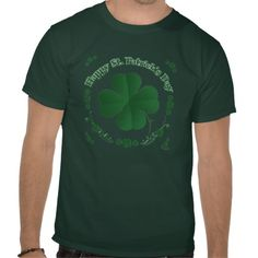 Happy St. Patrick's Day T-Shirt. **To Guarantee The Right Size, Please Check Your Measurements To Zazzle's Size Chart.** ~This Design Is Available On 98 Different Products!~