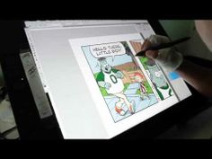 This is how I do my comic strip Frank and Steinway (digitally).  I also do it traditionally, but computers are cool!  Gotta stop livin' in the past!
