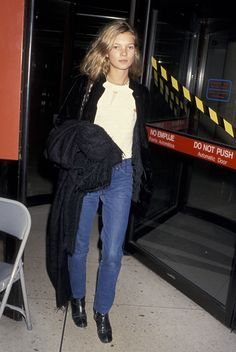 Four decades of iconic supermodel street style—from Jerry Hall to Karlie Kloss.