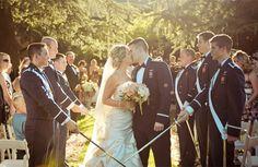 Air Force Wedding :)
