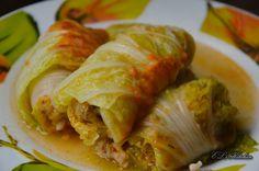 EL's Kitchen: Сармички с листа от китайско зеле