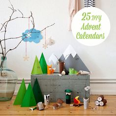 25 Beautiful DIY Advent Calendars
