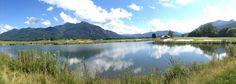 Nach fast vierwöchigem Spielbetrieb, den ersten beiden offenen Turnieren und einem recht angenehmen April, starten wir optimistisch in den Mai 2015. 18 Loch #Golfplatz vom #Golf #Resort #Achental in Grassau im #Chiemgau - #golfer #golfing #golfhotel #berge #see #lake #mountains #bavaria #bayern