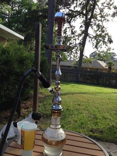 Not sure if we have any Hookah fan, but this is the little beauty I got a couple weeks ago.