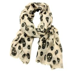 This is one of my favorites on totsy.com: Skull Scarf