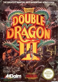 Double Dragon III Nes   for the latest computer games at great prices http://multicitygames.com