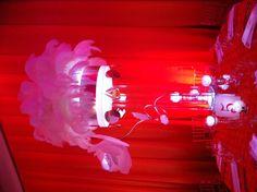 Bat Mitzvah Event Decor Glowing Centerpieces Party Perfect Boca Raton, FL 1(561)994-8833
