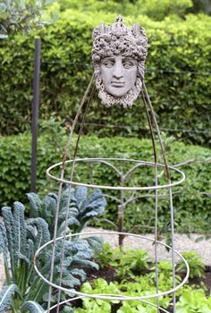 Beautiful tomato cages by Eat • Drink • Garden • Santa Barbara, California