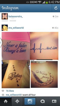 Tattoos<3 omg yes...!