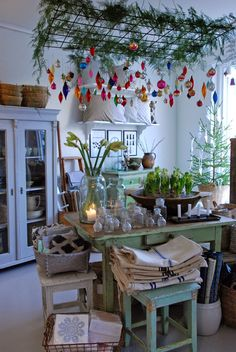 Vita Ranunkler: Min butik