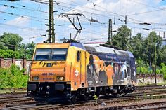 Trains and locomotive database and news portal about modern electric locomotives, made in Europe. Japan Train, Electric Locomotive, Bahn, Hungary, Transportation, Engineering, Change, Landscape, Pictures